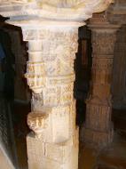Asisbiz Rajasthan Jaisalmer Fort Jain Temple pilar engravings India Apr 2004 03