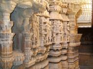 Asisbiz Rajasthan Jaisalmer Fort Jain Temple wall engravings India Apr 2004 01