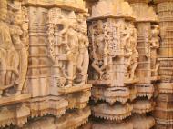 Asisbiz Rajasthan Jaisalmer Fort Jain Temple wall engravings India Apr 2004 02