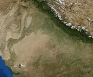 Asisbiz A NASA satellite image of the Thar Desert 0A