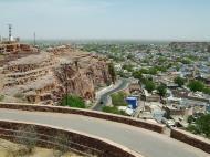 Asisbiz Rajasthan Jodhpur Jaswant Thada panoramic views India Apr 2004 03