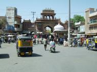 Asisbiz Rajasthan Jodhpur Sardar Market entrance India Apr 2004 01