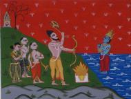 Asisbiz Art Painting Parshuramsaraswats