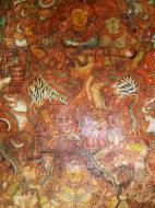 Asisbiz Kochi Mattancherry Palace Dutch Palace paintings India May 2004 05