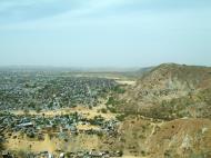 Asisbiz Nahargarh Fort Aravalli Hills overlooking city of Jaipur India Apr 2004 01