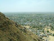 Asisbiz Nahargarh Fort Aravalli Hills overlooking city of Jaipur India Apr 2004 03