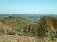 Asisbiz Nahargarh Fort Aravalli Hills overlooking city of Jaipur India Apr 2004 10