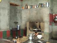 Asisbiz Kashmir Pahalgam Valley villagers home stove India Apr 2004 01