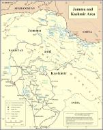 Asisbiz A map drawing of the UN Kashmir Jammu 1972
