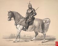 Asisbiz Art Painting Raja Lal Singh of First Anglo Sikh War 1846