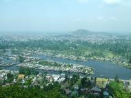 Asisbiz Kashmir panoramic view of Dal Lake and the city of Srinagar India Apr 2008 02
