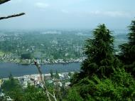 Asisbiz Kashmir panoramic view of Dal Lake and the city of Srinagar India Apr 2008 03
