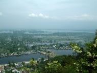Asisbiz Kashmir panoramic view of Dal Lake and the city of Srinagar India Apr 2008 04