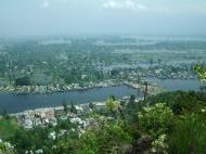 Asisbiz Kashmir panoramic view of Dal Lake and the city of Srinagar India Apr 2008 05