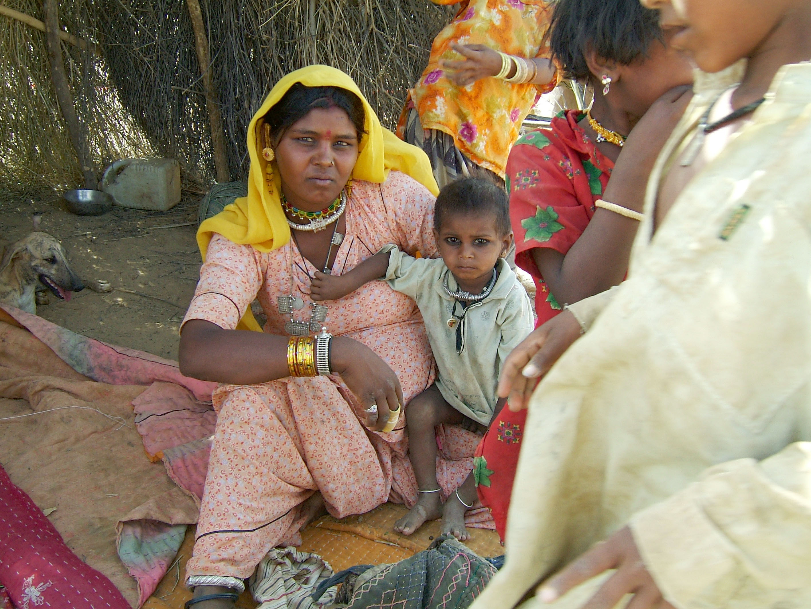 Rajasthan Jaisalmer Thar Desert tribes Gypseys Arp 2004 03