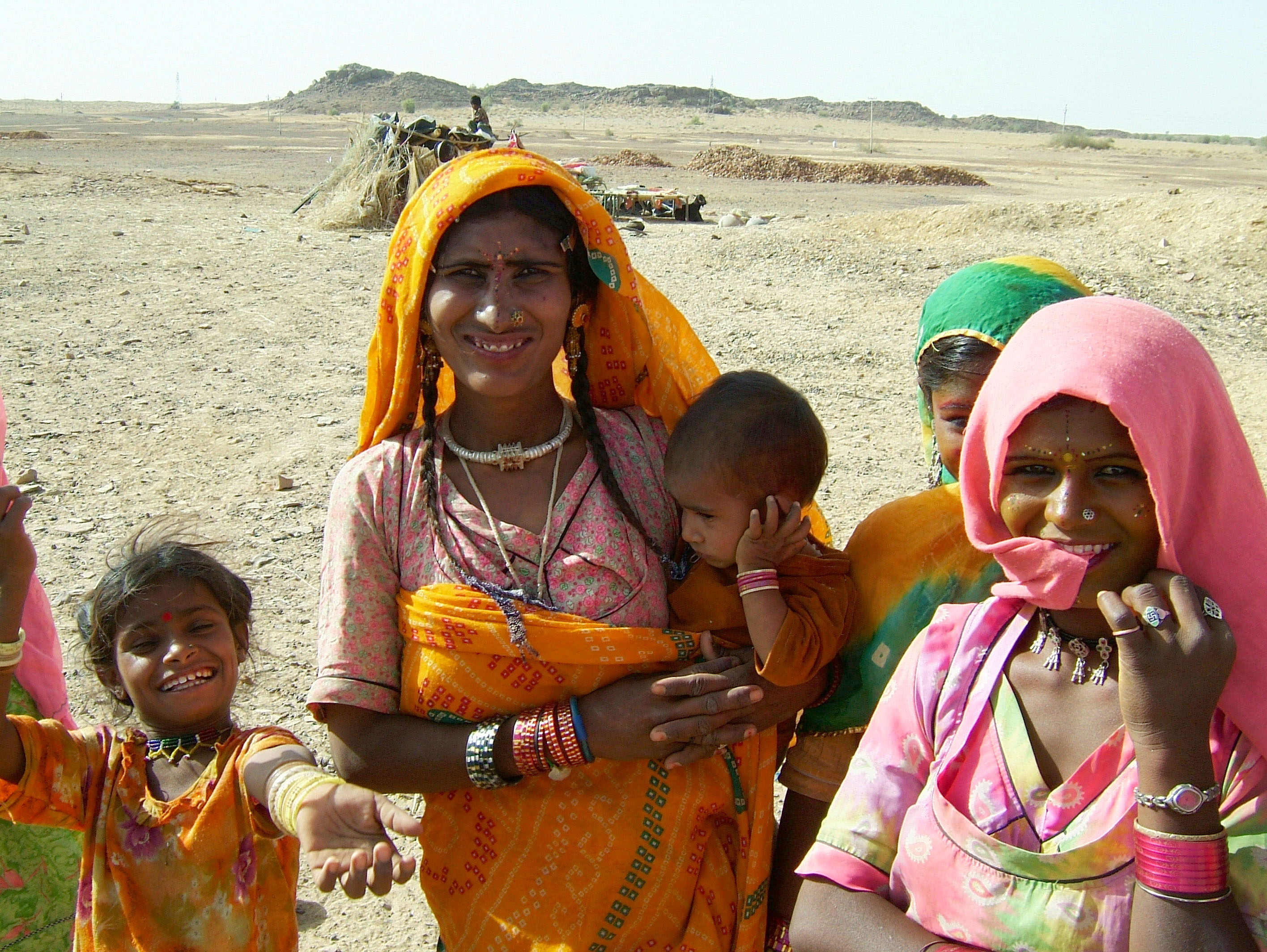 Rajasthan Jaisalmer Thar Desert tribes Gypseys Arp 2004 04