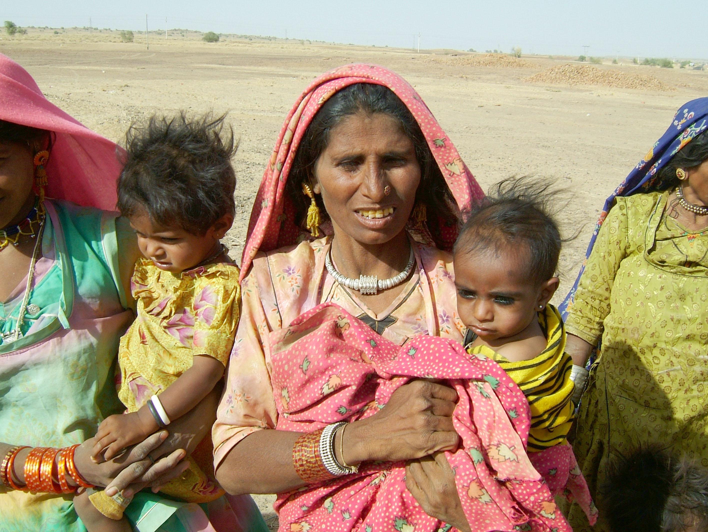 Rajasthan Jaisalmer Thar Desert tribes Gypseys Arp 2004 06