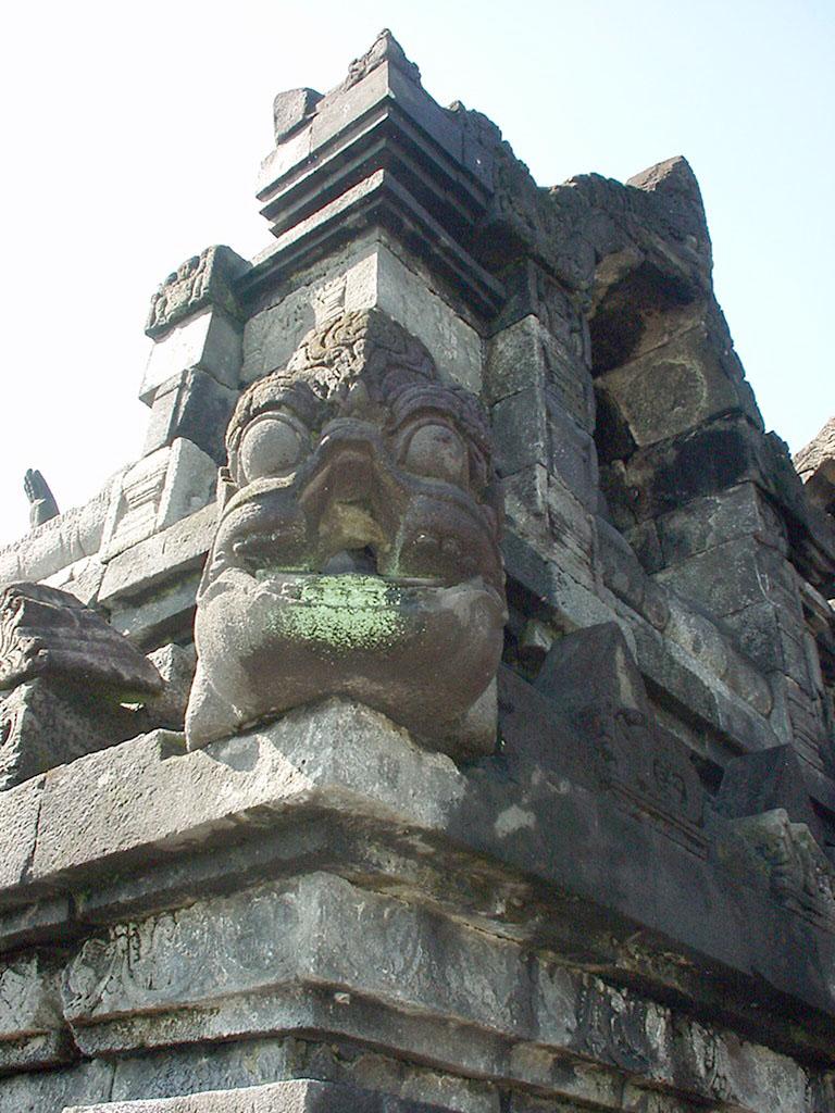 Java Yogyakarta Yogya Borobudur Pagoda Mosaics Aug 2000 12