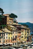 Asisbiz Travel photos featuring the marina around panoramic Portofino Tigullio Gulf Liguria Italy 02