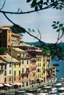 Asisbiz Travel photos featuring the marina around panoramic Portofino Tigullio Gulf Liguria Italy 03