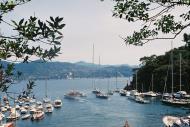 Asisbiz Travel photos featuring the marina around panoramic Portofino Tigullio Gulf Liguria Italy 04