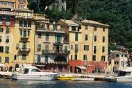 Asisbiz Travel photos featuring the marina around panoramic Portofino Tigullio Gulf Liguria Italy 05