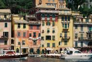 Asisbiz Travel photos featuring the marina around panoramic Portofino Tigullio Gulf Liguria Italy 06