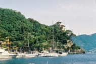 Asisbiz Travel photos featuring the marina around panoramic Portofino Tigullio Gulf Liguria Italy 07