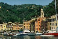 Asisbiz Travel photos featuring the marina around panoramic Portofino Tigullio Gulf Liguria Italy 08