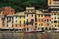 Asisbiz Travel photos featuring the marina around panoramic Portofino Tigullio Gulf Liguria Italy 09