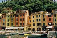 Asisbiz Travel photos featuring the marina around panoramic Portofino Tigullio Gulf Liguria Italy 10