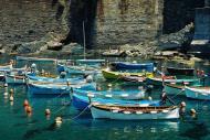 Asisbiz Travel photos of the local fishing boats around Rapallo Italy 01
