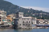 Asisbiz Wikipedia the castle at Rapallo from the gulf 01