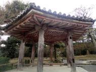 Asisbiz Byodo in Buddhist Jodo shiki garden Gazebo Kyoto Japan 01