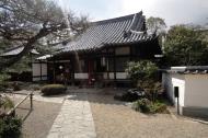 Asisbiz Byodo in Buddhist temple left side entrance Phoenix Hall Kyoto Japan 02