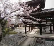 Asisbiz Byodo in Buddhist temple right side entrance Phoenix Hall Kyoto Japan 02