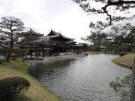 Asisbiz Byodo in temple Phoenix Hall Jodo shiki garden pond views Japan 01