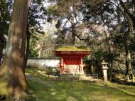 Asisbiz Walk from Nigatsu do to Kasuga taisha shrine rooms 01