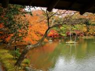 Asisbiz Kinkaku ji Temple 05 the pond of Kyoko chi Japan Nov 2009 01
