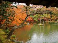 Asisbiz Kinkaku ji Temple 05 the pond of Kyoko chi Japan Nov 2009 02