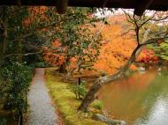 Asisbiz Kinkaku ji Temple 05 the pond of Kyoko chi Japan Nov 2009 03