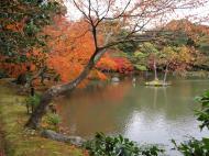 Asisbiz Kinkaku ji Temple 05 the pond of Kyoko chi Japan Nov 2009 08