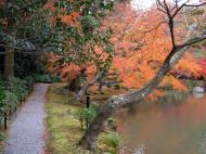 Asisbiz Kinkaku ji Temple 05 the pond of Kyoko chi Japan Nov 2009 09