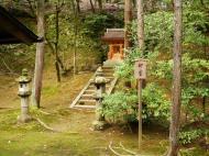 Asisbiz Kinkaku ji Temple 09 Shin un guardian god Kyoto Japan Nov 2009 01