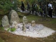 Asisbiz Kinkaku ji Temple 11 Buddha wishing bowl Kyoto Japan Nov 2009 02