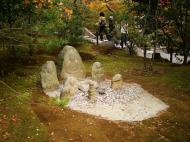 Asisbiz Kinkaku ji Temple 11 Buddha wishing bowl Kyoto Japan Nov 2009 04