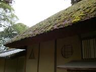 Asisbiz Kinkaku ji Temple 14 Thatched Roof houses Kyoto Japan Nov 2009 01