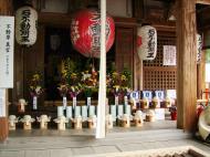 Asisbiz Kinkaku ji Temple 18 the Fudo Hall God of Fire Japan Nov 2009 01