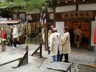 Asisbiz Kinkaku ji Temple 18 the priests Kyoto Japan Nov 2009 01