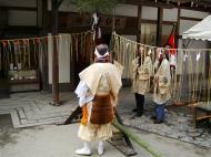 Asisbiz Kinkaku ji Temple 18 the priests Kyoto Japan Nov 2009 03